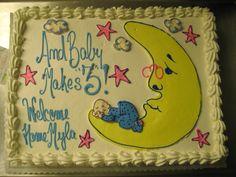 Burlingame Cakery welcome home cake