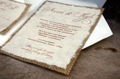Do It Yourself DIY Simple Rustic Burlap by InvitationsByAlecia