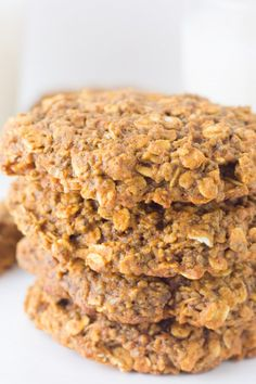 breakfast cookies, cookie dough
