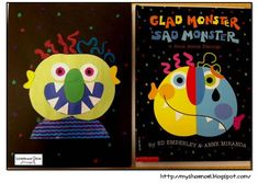 Glad Monster, Sad Monster – A Book About Feelings (and a Craftivity) - pinned by @PediaStaff – Please Visit  ht.ly/63sNt for all our pediatric therapy pins