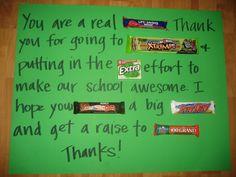 teacher candy card, candi card, teacher candi, gift ideas, candy gifts