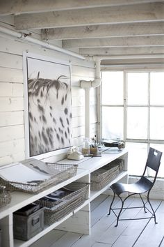 bright and beautiful work space