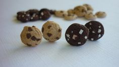 cookie earrings by ItsybitsyIsy on Etsy, €3.45