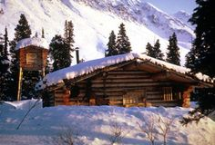 Dick Proenneke built this cabin on his own, deep in the wilderness of Alaska.  What a perfect home, built with your own two hands, surrounded by rugged wilderness as far as the eye can see.