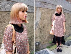 Love this hair cut/colour - Hair colors | United Blogs of Benetton
