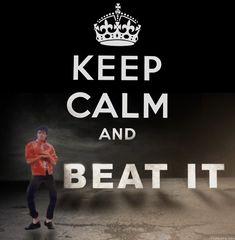 keep calm - michael jackson