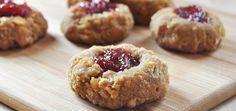 Vegan, Gluten-Free Thumbprint Cookies
