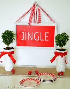 Tatertots and Jello Holiday Christmas Decor