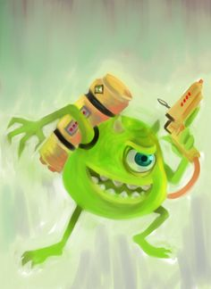 Mike Wazowski On Pinterest Monsters Inc Monster