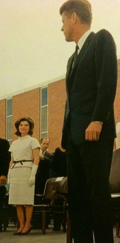 President and Mrs. Kennedy on November 21, 1963...the next day would bring grieving around the world.