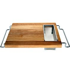 Sink Cutting Board ... I would love one of these, but not in the crappy sink of our rental house.