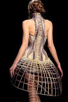 Spine corset, Jean Paul Gaultier