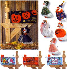 Rare LAWN GOOSE Sewing Pattern  Geese Costumes & Seasonal Mailbox covers #patterns4you