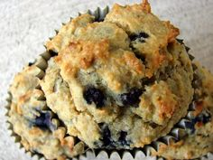 Low Carb Blueberry Muffins-Gluten Free/Wheat Free