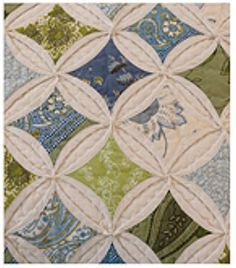 LInks to cathedral window quilt instructions