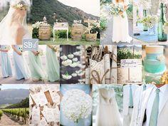 Blue and Green Sea Inspired Wedding Palette Perfect Palettes, Pastel Blue, Pastel Cerveza Tennis, Blue Green, Jtlhwed Ideas, Colors Schemes, Wedding Colors, Green Wedding, Colour Schemes