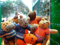 A Bear in knit is a friend indeed by sifis, via Flickr