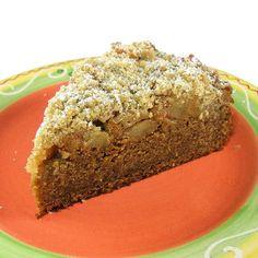 Pumpkin-Apple Streusel Coffee Cake