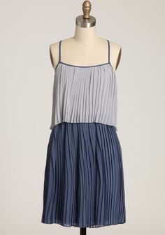 simple & cute. Moments Notice Pleated Dress | Modern Vintage Sale