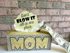 Don't Blow It All In One Place: Best DIY Cash Gift {EVER}