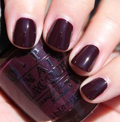 OPI William Tell Me About OPI - I just got allll shellaced up with this color - love!