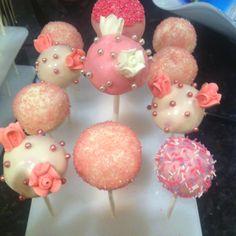 cake pops, cakepop, bridal shower cake pop, bridal showers, bridal shower cakes