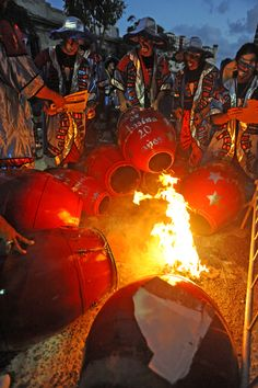 Como todos los años, las llamadas dan inicio en los primeros días de febrero y son la antesala del Carnaval uruguayo. (Primera Hora / Luis Alcalá del Olmo)