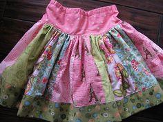 fat quarter skirt - Making this tomorrow