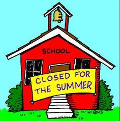 summer Hastings, School is Out!!  Let Summer begin.