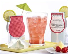 Razzle Dazzle Wedding Party Raspberry Iced Tea Mix
