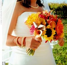 Sunflower bouquet..