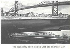 September 14, 1974 - The Transbay Tube, a tunnel coursing underwater through California's San Francisco Bay and linking San Francisco and Oakland as part of the Bay Area Rapid Transit (BART) system, was officially opened.  Via AASHTO