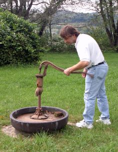 Old Water Pump West Virginia