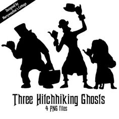 DIY Disney's Haunted Mansion Hitchhiking Ghost Crafts