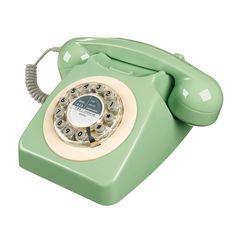 Mint Retro Telephone