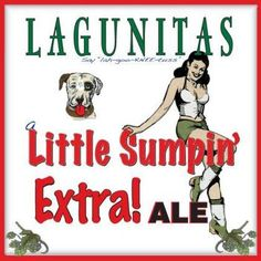 Review :Lagunitas A Little Sumpin' Extra! Ale #Beer