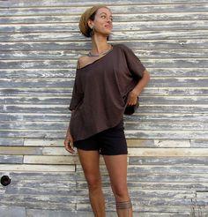 Kaftan Shirt (light hemp/organic cotton knit)
