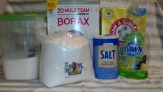 Dishwasher Detergent.   I was skeptical it would work. IT WORKS BETTER THEN STORE BOUGHT! I am completely converted to homemade dishwasher detergent for life. Cost less then 75 cents for 40 loads. Now that is savings.