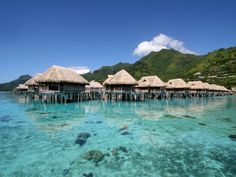 List of resorts with water bungalows