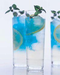 Pacific Breeze recipe from Food & Wine-bluestreaked, vodka-spiked lemonade