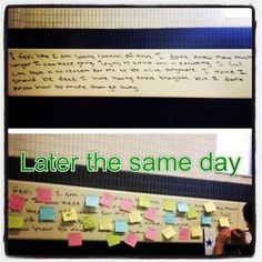An Ohio University student wrote a message of despair on a wall and instead of cleaning it up or ignoring it, students posted encouraging notes back to the student. Stories like this remind us why Ohio University is the best school and the students here are even more amazing.