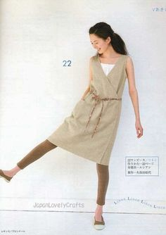 Natural Taste Gauze, Linen & Cotton Summer Clothes for Summer - Japanese Sewing Pattern Book for Women - B144. $21.00, via Etsy.