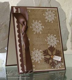 very easy and beautiful and elegant christmas card