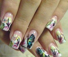 Butterfly Nail Art #ShopSimple