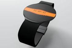 Touch Skin Watch, Niels Astrup, future watch, futuristic watch, concept, watch, luxury watch, fantastic watch, digital watch, touch-sensitive