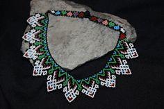 Huichol Bead Art Symbols | Huichol Beaded Choker Necklace