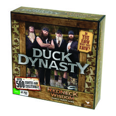 Duck Dynasty Party Game: Redneck Wisdom #duckdynasty