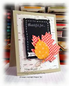 Thankful for...Bada-Bing! Paper-Crafting