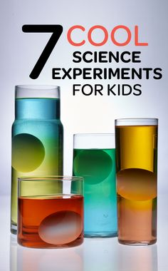 Cool & classic #scienceexperiments to try with kids #science #sciencefairs