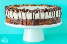 Brookie Cheesecake ~ Make Bake Celebrate-adapt to homemade